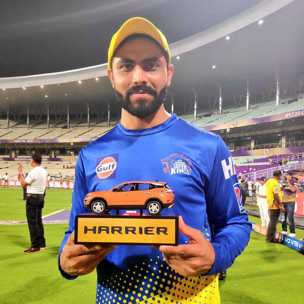The Sir-real blitz in the last overs fetches #SirJaddu the Super Striker of the Match! #WhistlePodu #Yellove #KKRvCSK <br>http://pic.twitter.com/WVZsm0zjav