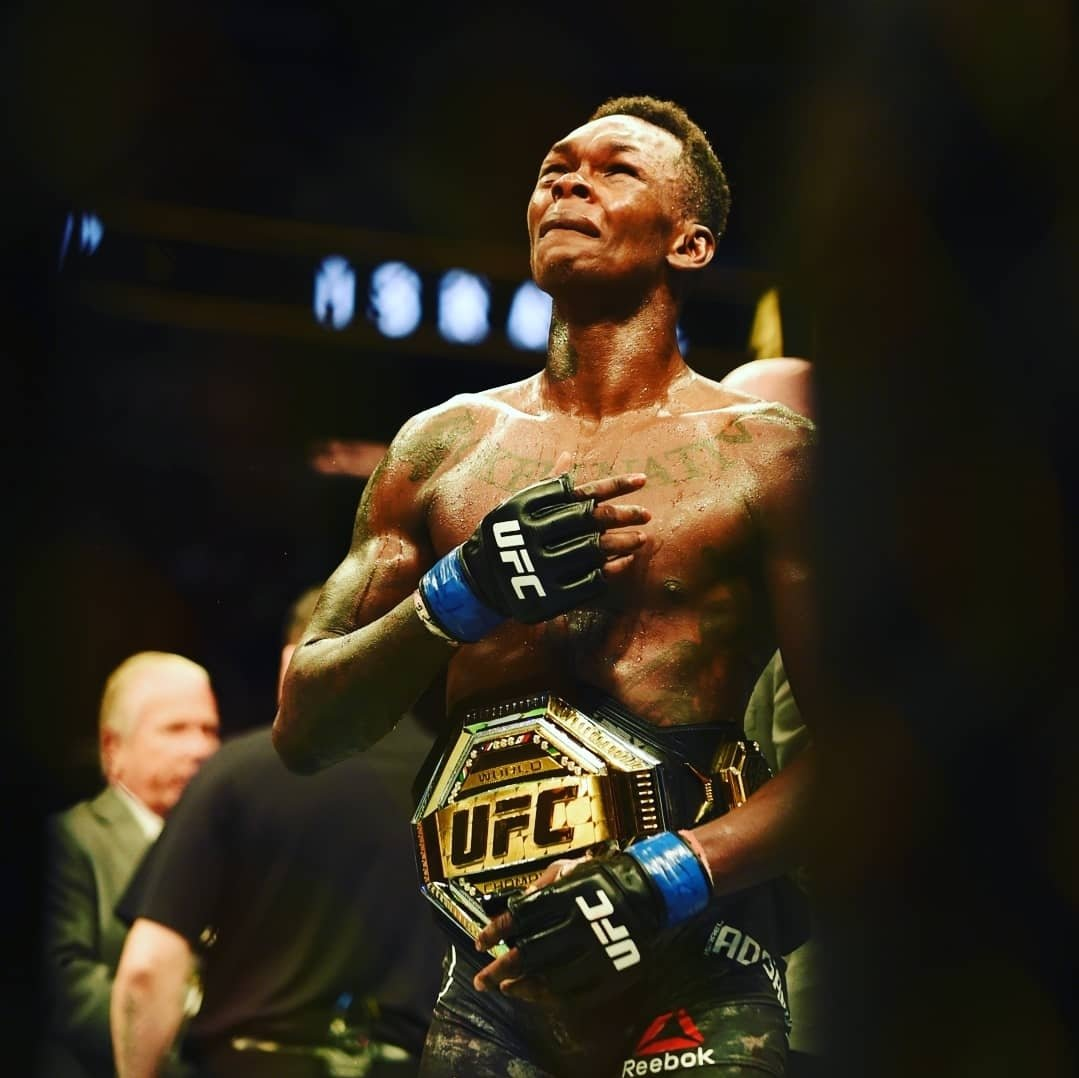 "Israel Adesanya vs. Kelvin Gastelum: ""I'm Willing To Die, I Am Prepared To Die"" - Israel"