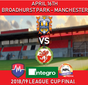 Tomorrow night is the @IntegroSport League Cup Final as @FarsleyCelticFC face @FCTrafford   Here is all the important info for the match if planning to attend @FCUnitedMcr   http://www.evostikleague.co.uk/integro-league-cup-final-supporter-information-56423 …  Commentary on @LiveSportsFM  and Highlights by @TSMediaCo