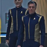 Image for the Tweet beginning: ANSON MOUNT Respondes to 'STAR