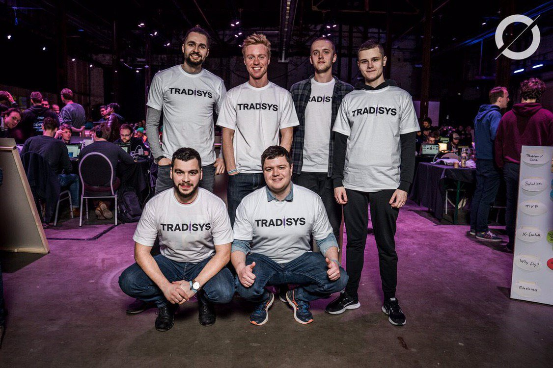 Well done, @Tradisys! We're so proud of your amazing result at @OdysseyHack! Keep doing your great work!  #OdysseyHack