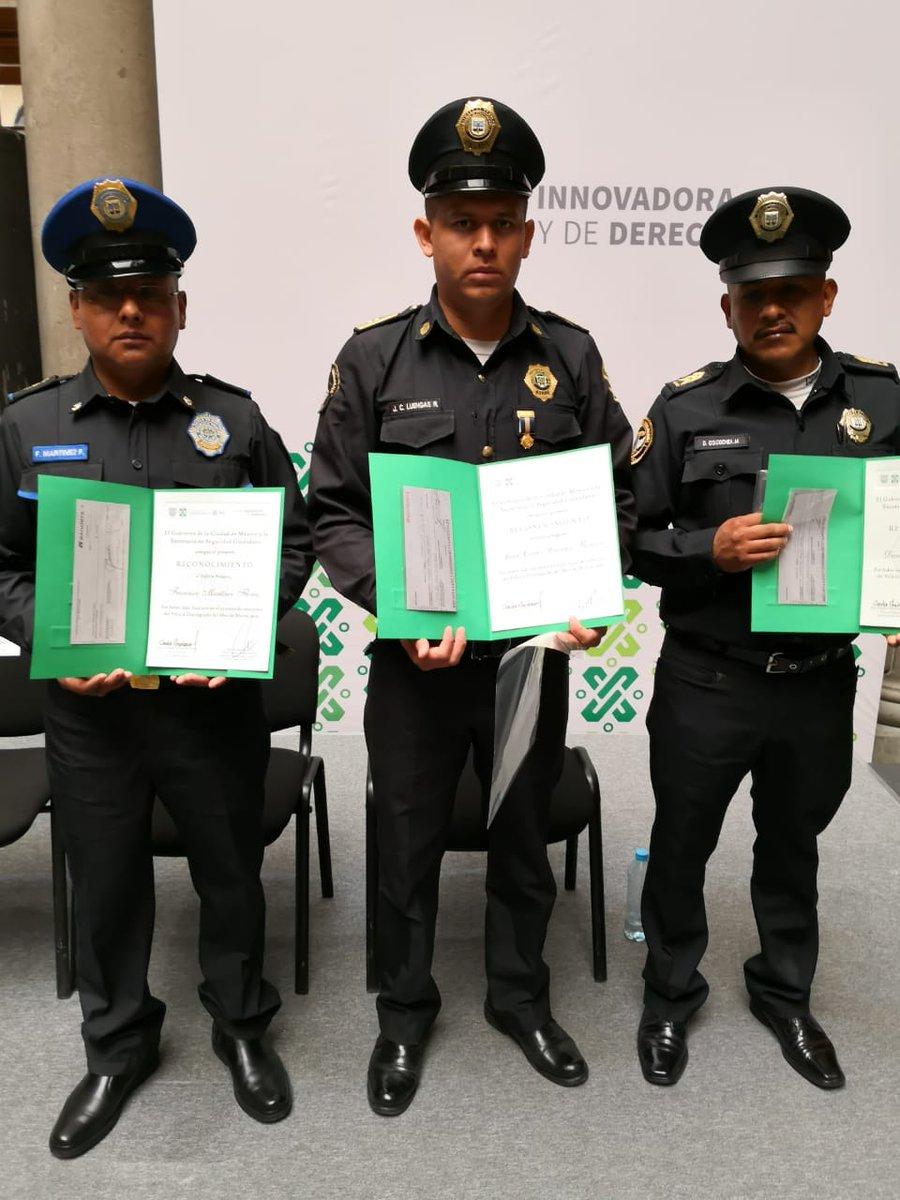 SSC CDMX's photo on #PolicíaDelMes