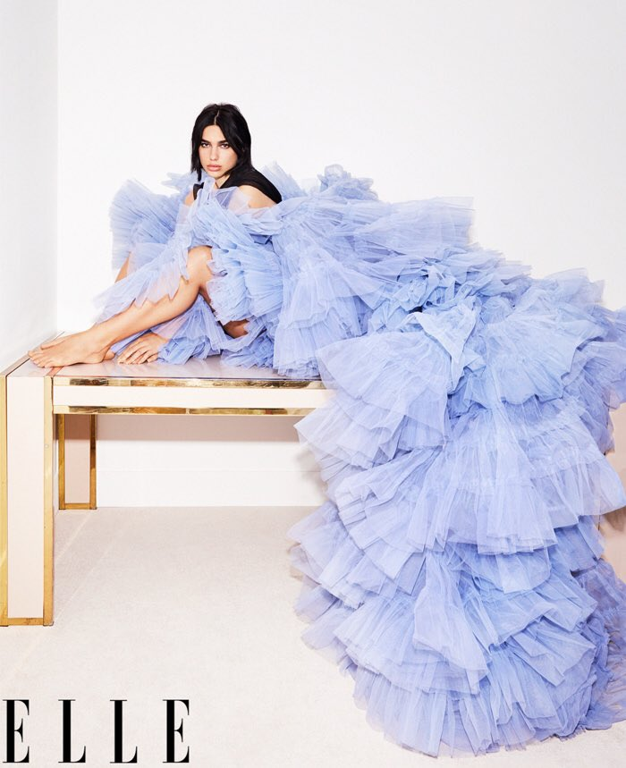 The high-low tulle dress Cindy Bruna walked in for Jean Paul Gaultier