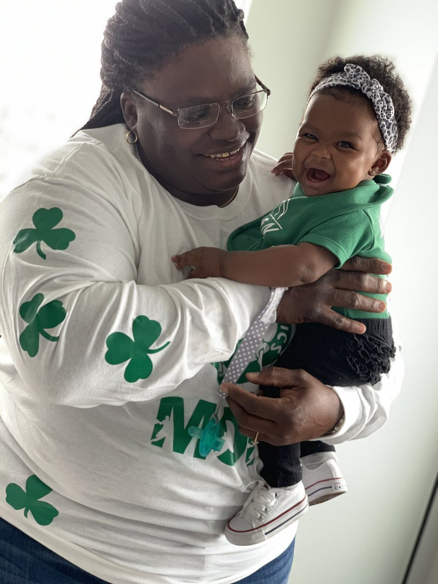 Game Day! #CelticsMom #CelticsDaughter @rob_williamsIII