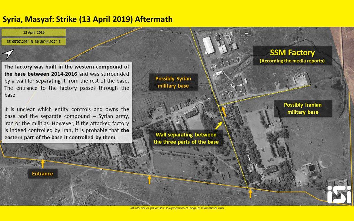 """موقع إسرائيلي: القصف على """"مصياف"""" السورية دمر صواريخ إيرانية من نوع """"زلزال 2"""" D4IQL5WXsAEncgT"""