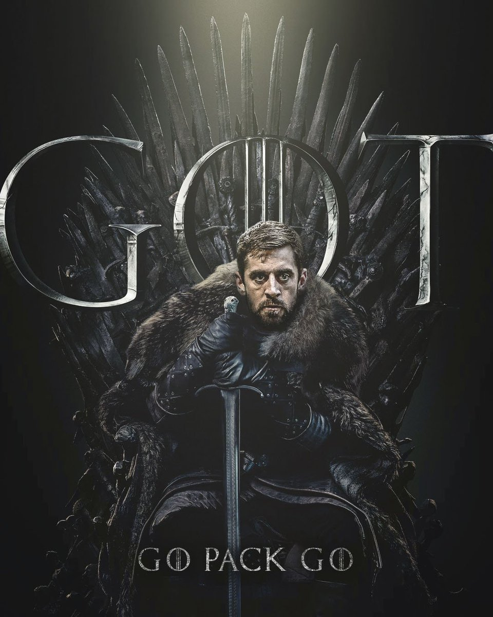 Lord Rodgers: The true King in the North #ForTheThrone #GoPackGo