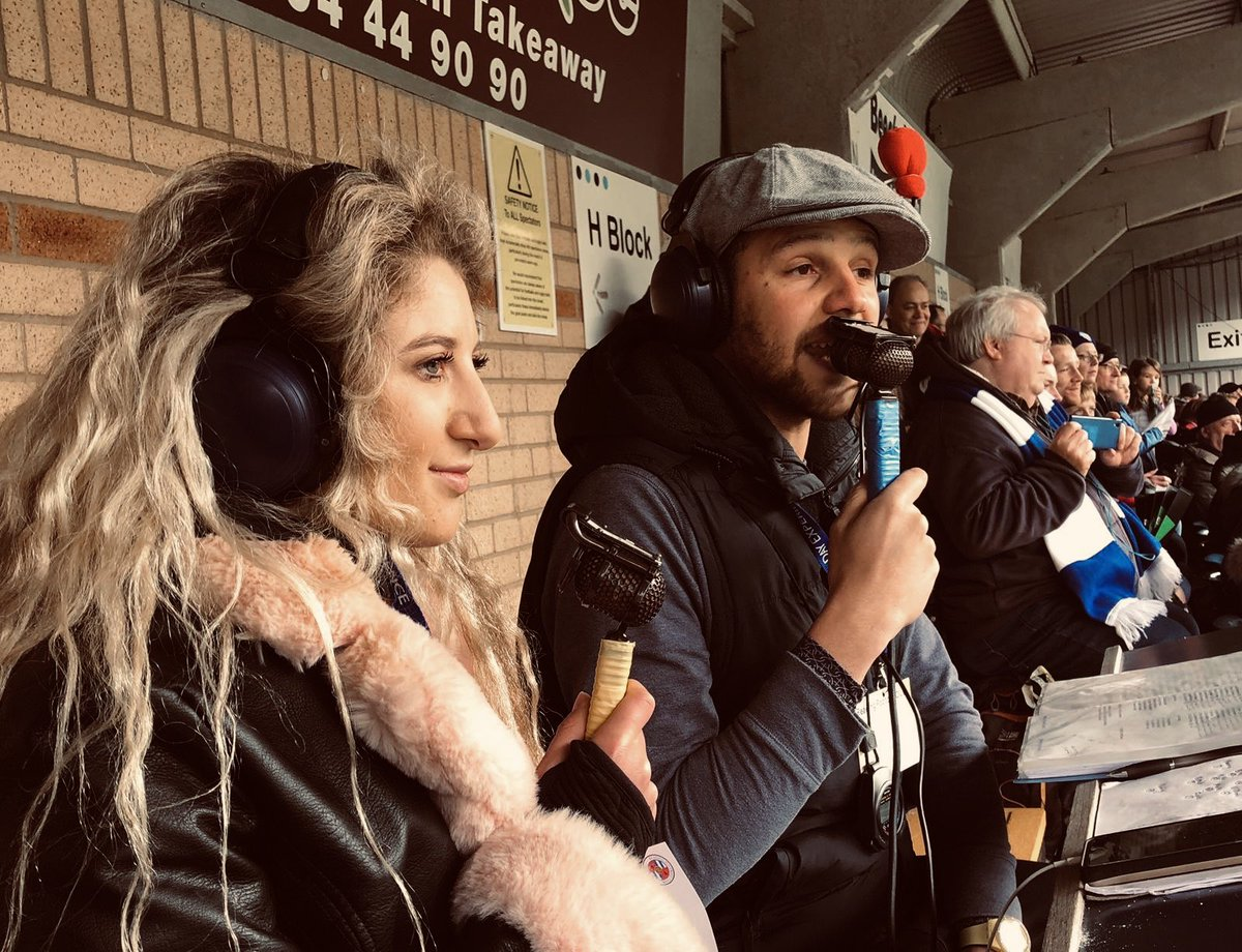 What 🔥 A 🔥 Game!  Privilege to be alongside @samantham7PD 🎙 as @westhamwomen made history in booking their place at a first #FACup Final.  Feel for @ReadingFCWomen losing on pens, they more than played their part in a thrilling cup tie.  I'm off for a long lie down 💤💤