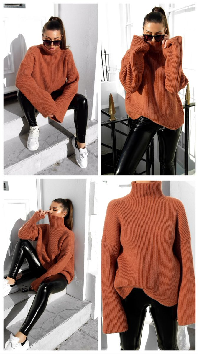 The 'Aspen' Wool Jumper from Romantic Rebel 🤩👌🏼 https://romanticrebel.co.uk/products/the-aspen-oversized-knit-1 …