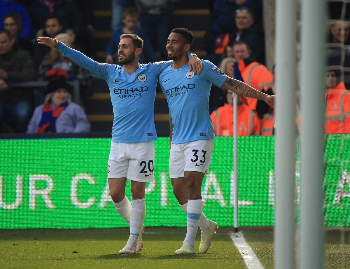Massive win today!! 🔵🔵 @ManCity  @gabrieljesus33 🤙🏼 https://t.co/yfJ0OyTyLG