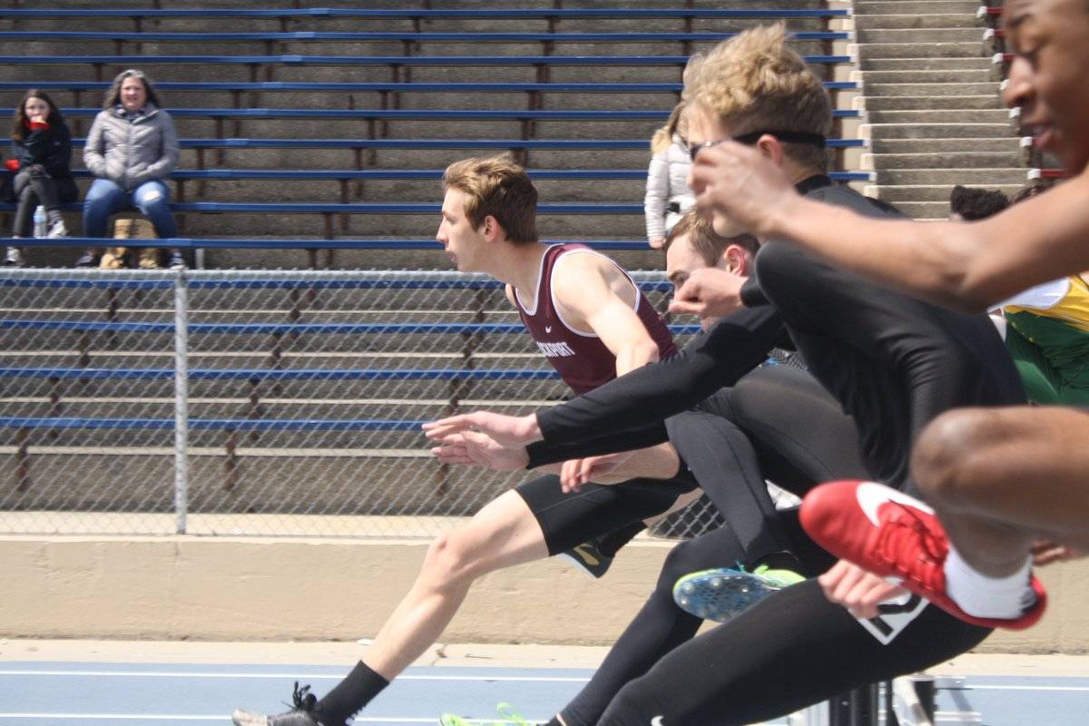 Congratulations to freshman Gabe Czako for breaking the Minooka #SmithStrong Invitational Meet Record in the 110 hurdles yesterday!  16.22 (into the wind) for Gabe!  Gabe is currently the #1 ranked freshman 110 hurdler in Illinois and is the 2nd ranked LTHS freshman of all-time!