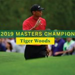 Image for the Tweet beginning: Tiger's triumph.  #themasters