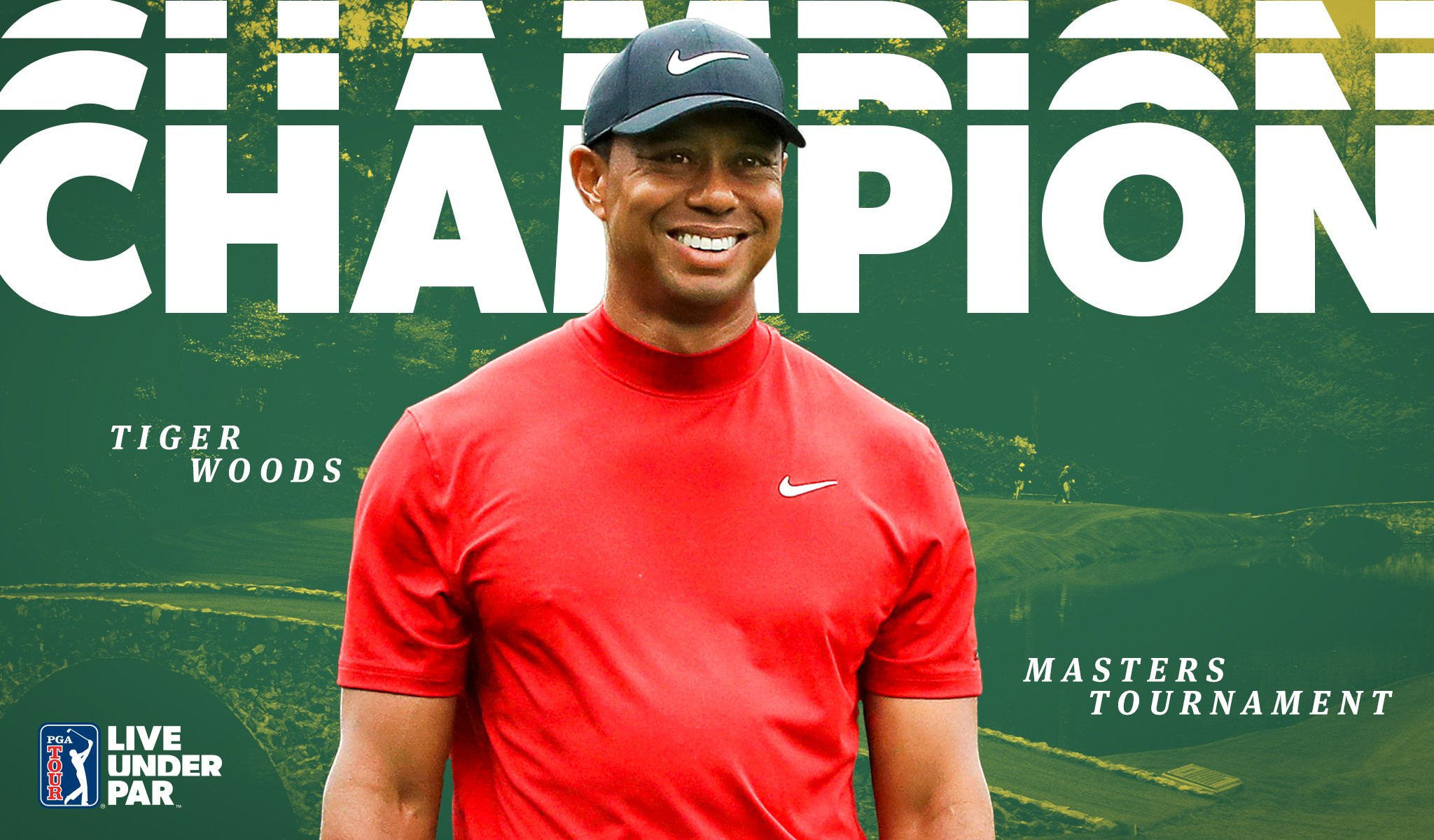Your 2019 Masters Champion, @TigerWoods. �� https://t.co/8BDZ0cUURk