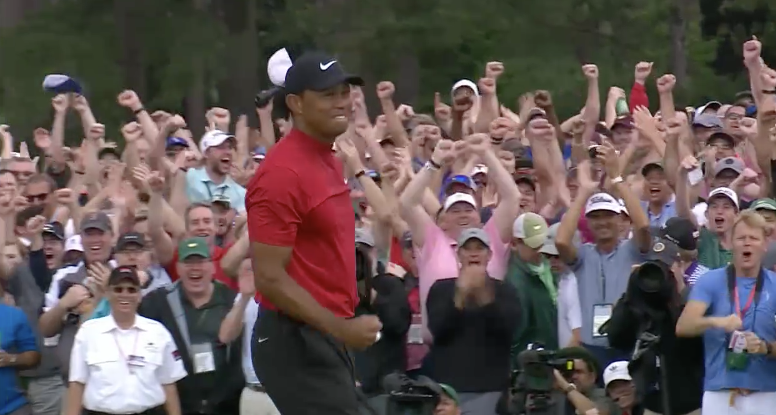 What. A. Scene. 🐅