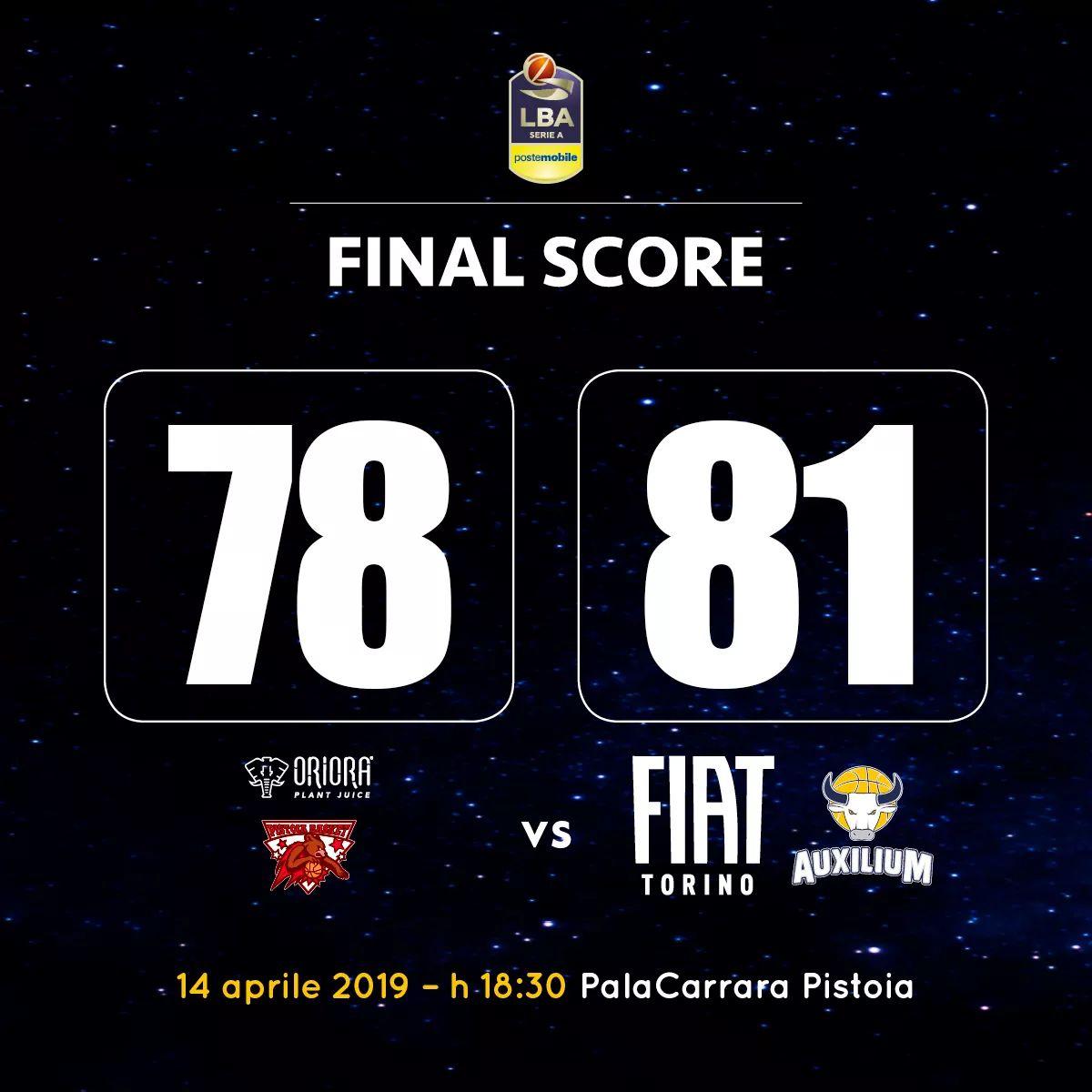 GRANDISSIMI RAGAZZI! 🔝💛💙  #TuttiPerTorino #quattrofinali #pistoiavstorino https://t.co/bBgAtaAksx