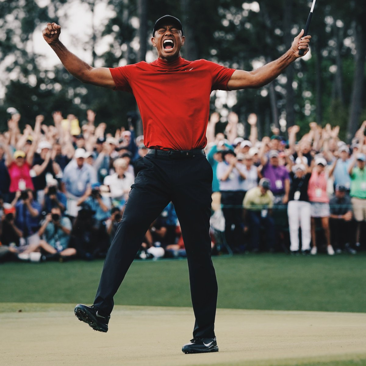 One of the greatest comebacks in sports history.  2008: Wins US Open on torn ACL 2010: Neck injury 2011: Sprained MCL, Achilles 2012: Achilles injury 2014: Back surgery 2015: Back surgery 2017: Back surgery 2019: Wins Masters (first major since 2008)