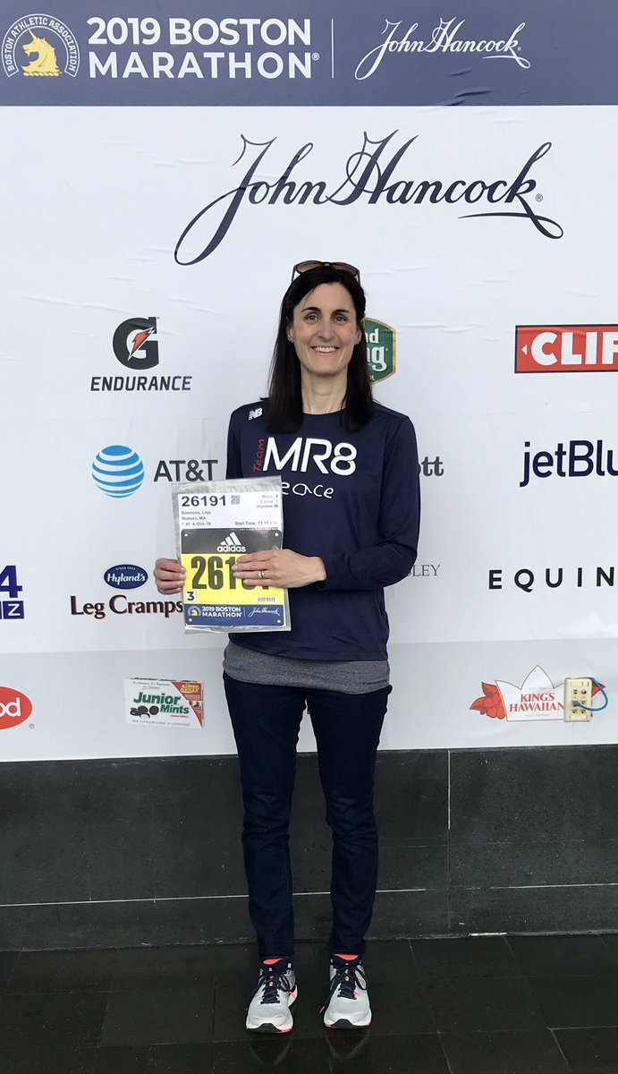 I'm ready to take on the challenge of the 123rd Boston Marathon for MARTIN! My number is 26191 - 26 Miles, 19 Year, 1st Marathon -We have raised more than $13,000 for @TeamMR8 - I am overwhelmed & gratefulLET'S DO THIS #runformore #runformartin<br>http://pic.twitter.com/KQkJ5JjOV1