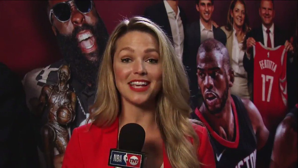.@ALaForce previews the @HoustonRockets matchup with the @utahjazz! 👀  #NBAPlayoffs