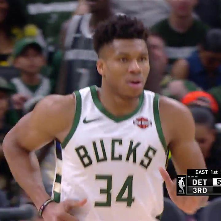 Wow Giannis. Just WOW! ��  #FearTheDeer | #NBAPlayoffs https://t.co/d97zNhR9JR