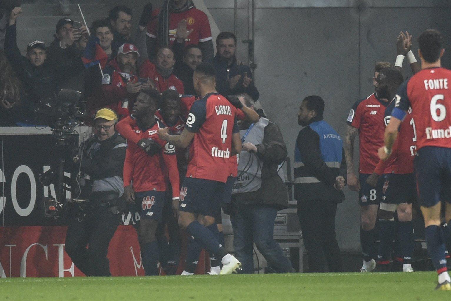 ليل يكتسح باريس سان جيرمان بخماسية مقابل هدف