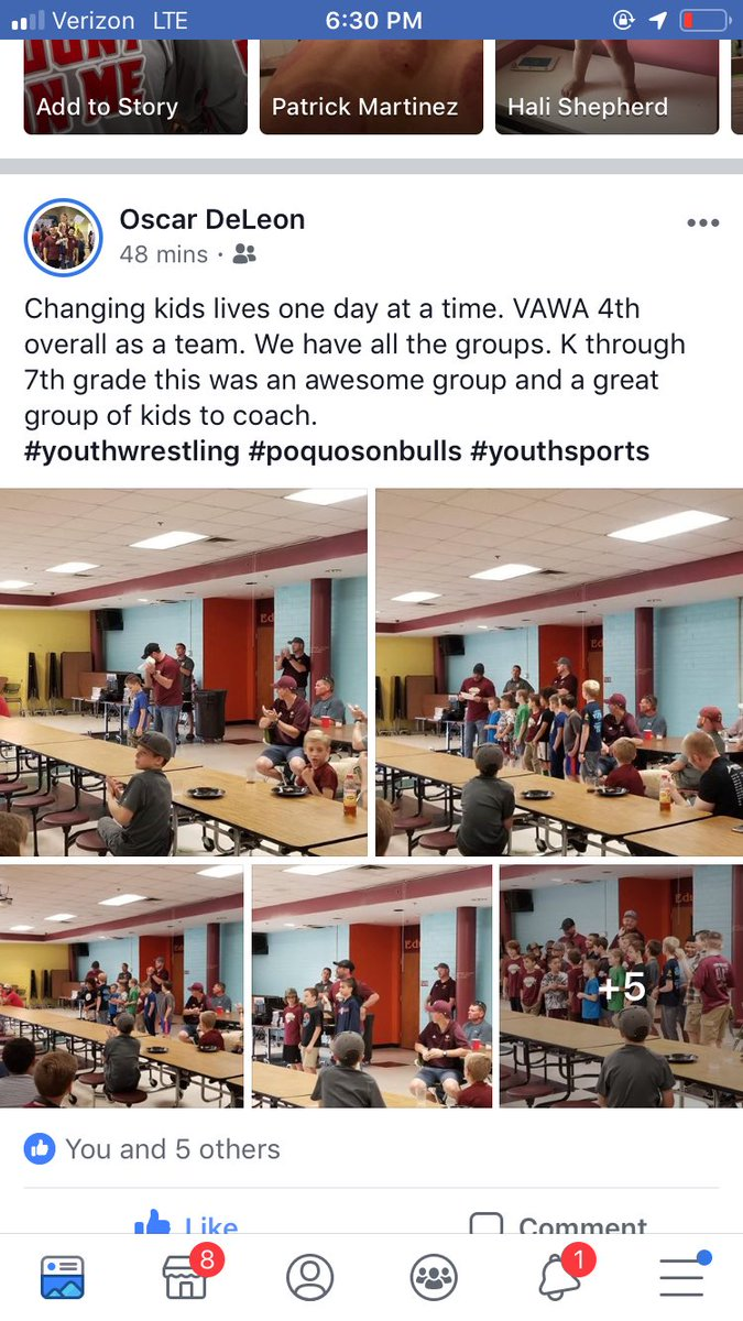 Love seeing things like this! Not only is Oscar DeLeon in the Air Force but while stAtioned he still gives back to wrestling by coaching at the local kids club! Proud of you Oscar! @GCCSchools @tjwrestling