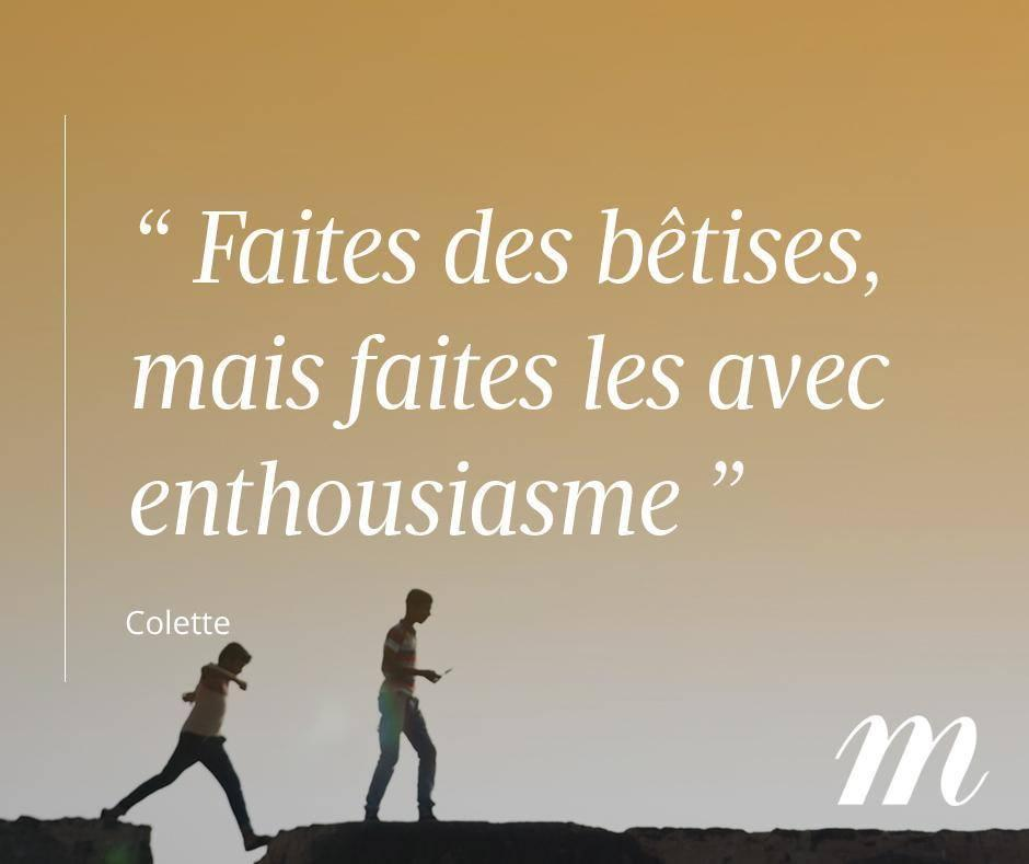Madame Figaro On Twitter Bon Lundi A Tous Citation Quote Colette