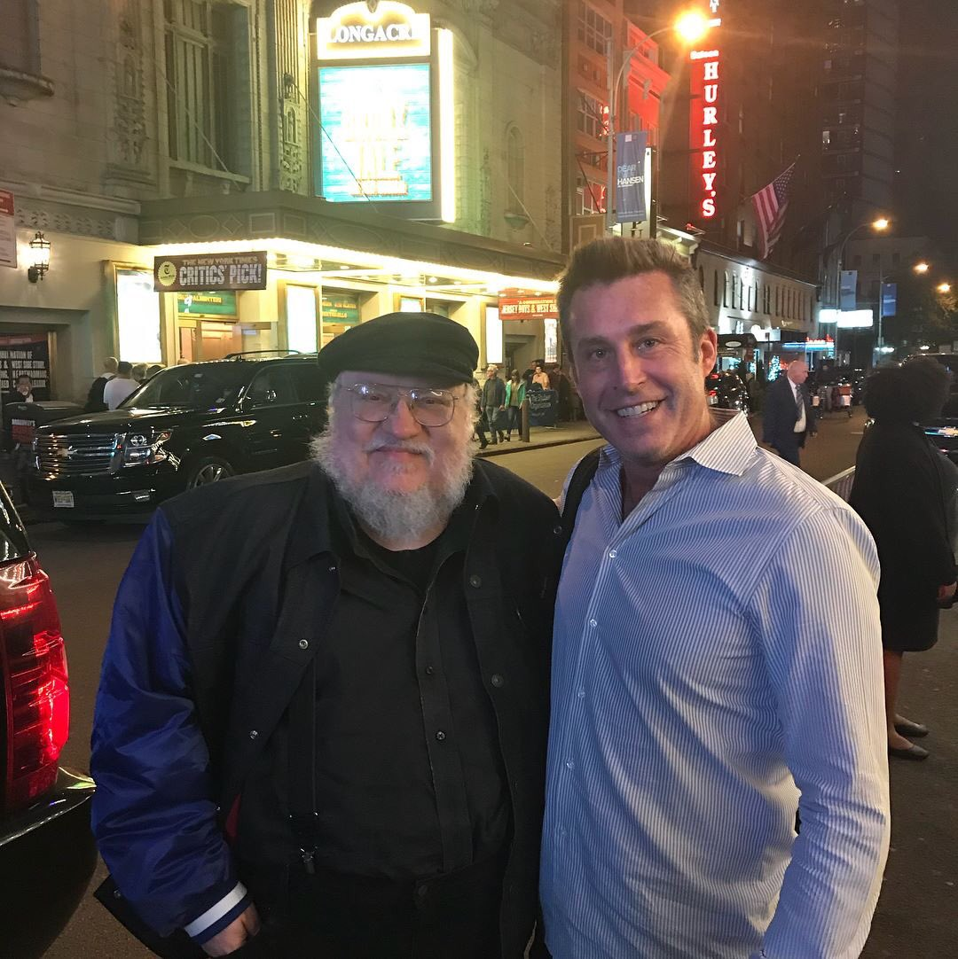 This moving fan story about George R.R. Martin will make you tear up