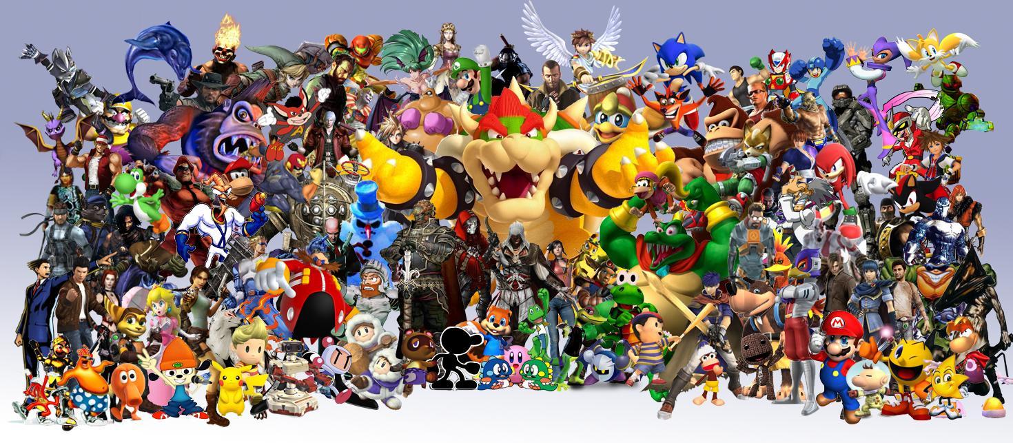 много персонажей на одной картинке из игры много тропинок потайных
