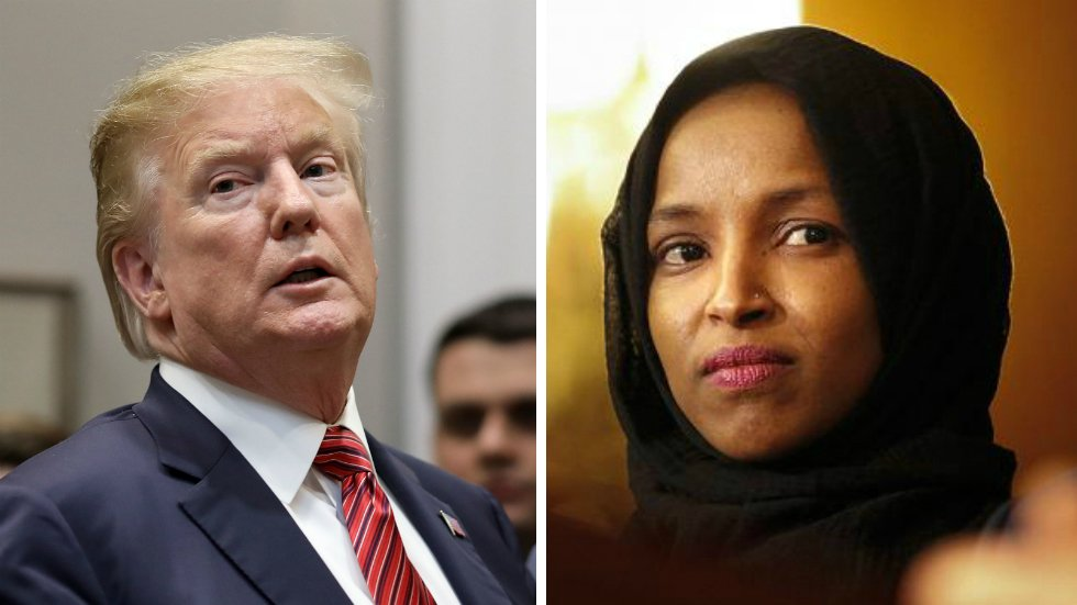 JUST IN: Omar says she has faced more death threats since Trump tweeted 9/11 video https://t.co/Q7fQXjYdyd https://t.co/V0VphN3aFa