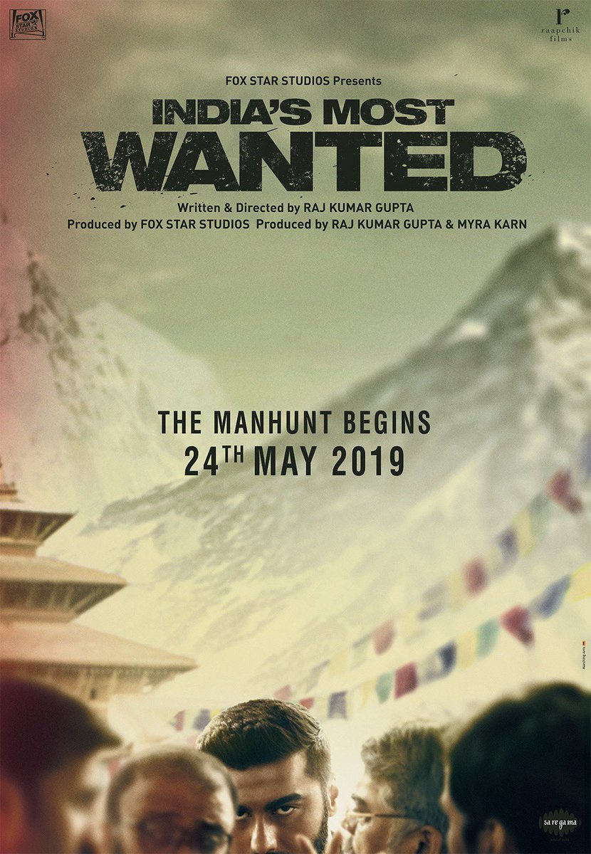 I am proud to present to all of you #IndiasMostWanted, an unbelievable story inspired by true events. Teaser out tomorrow. @rajkumar_rkg @foxstarhindi @raapchik_films #IMW