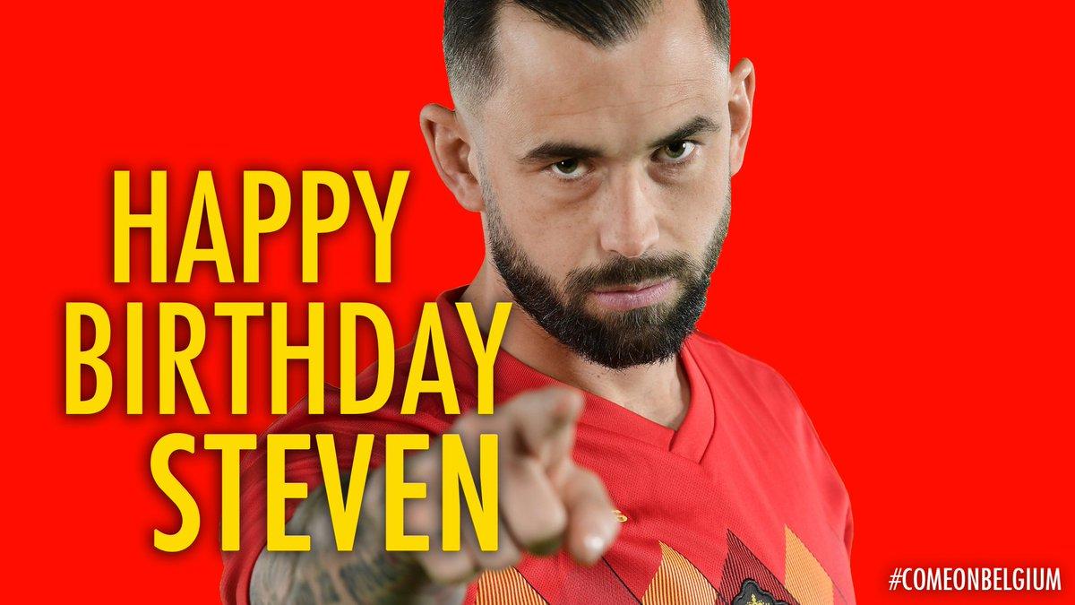 🙌🎂 31 🎂🙌  Happy B-Day @StevenDefour 🎈😉  #COMEONBELGIUM 🇧🇪 #EuropeanQualifiers #EURO2020