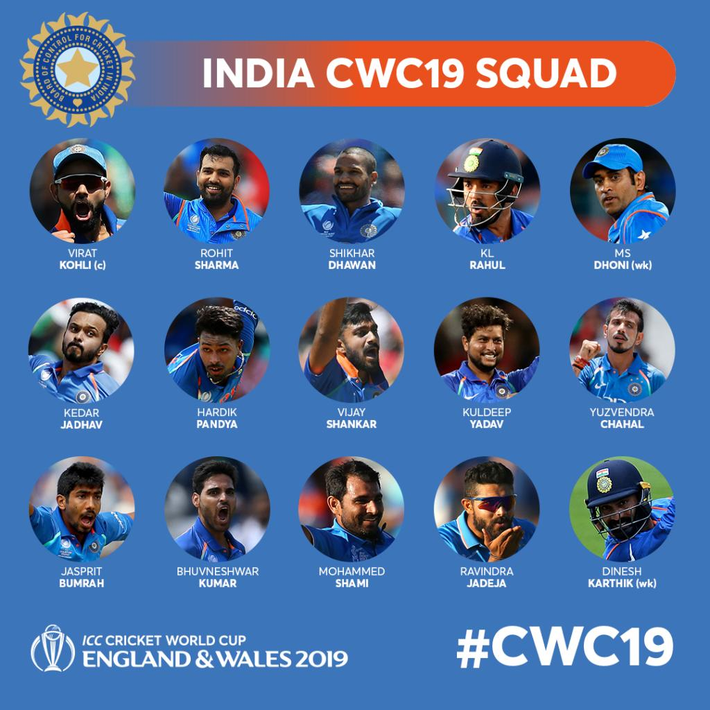 Image credit goest to twitter @cricketworldcup