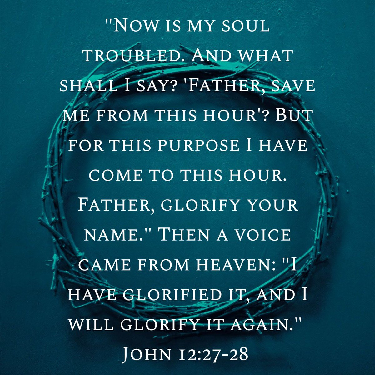 """getfreenow on Twitter: """"#MondayMorning #PassionWeek """"Now is my soul  troubled. And what shall I say? 'Father, save me from this hour'? But for  this … https://t.co/WOtGZwOKlD… https://t.co/QeBVm0zdM8"""""""