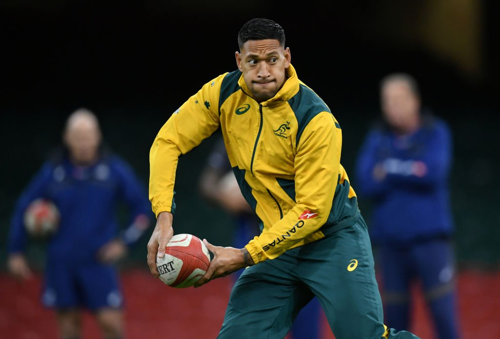 BREAKING: Rugby Australia terminate contract of full-back Israel Folau following discriminatory comments made on social media. #SSN  More:  http:// skysports.tv/OO2lKa  &nbsp;  <br>http://pic.twitter.com/YsmmSnM0iw