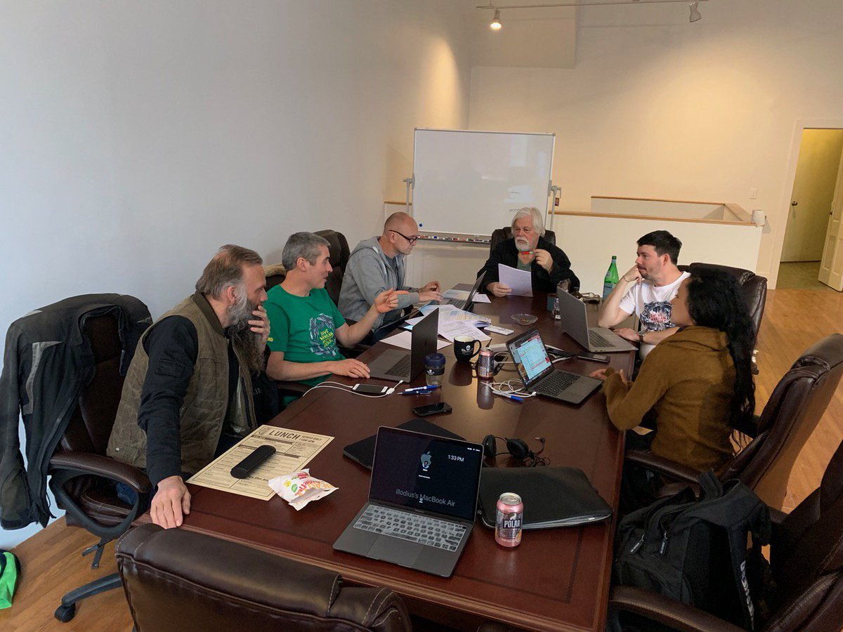 The @SeaShepherd Global Board concludes its latest meeting at our new satellite office in Vermont. We discussed campaigns, plans and strategies. Productive few days and it was good to catch up with the team. #SeaShepherd