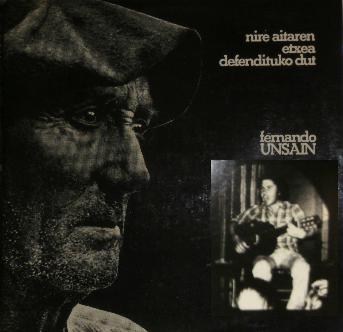 """#gaurkodiskoa """"Nire aitaren etxea defendituko dut"""" (Fernando Unsain, 1976) 🎧 http://www.badok.eus/euskal-musika/fernando-unsain/nire-aitaren-etxea-defendituko-dut…"""