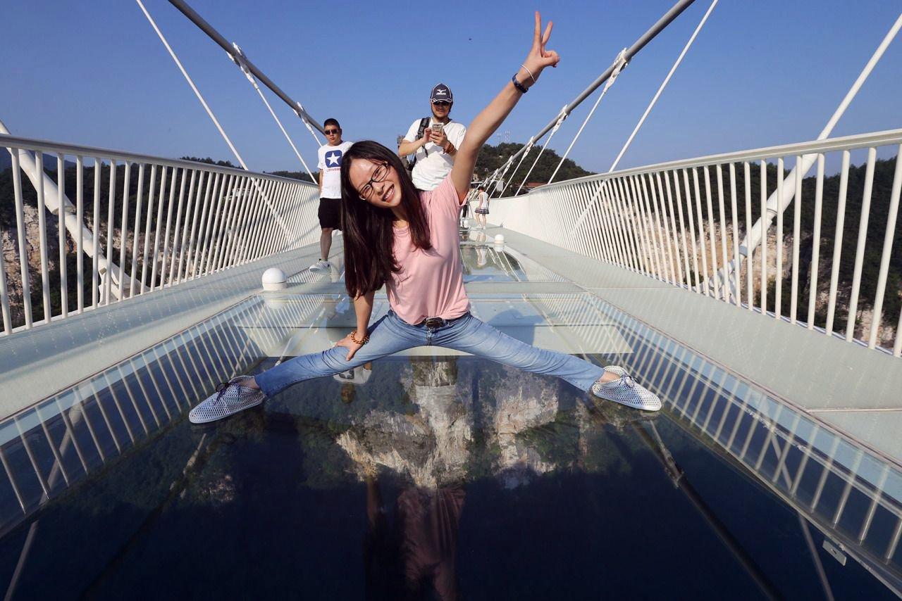 виды украинская мост со стеклянным полом в китае фото остров, чудо-остров