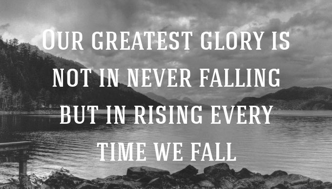 We fall. We rise. Go grab Monday and do something great #MondayMotivation #mondaythoughts  https:// apagraph.com/quote/8544  &nbsp;  <br>http://pic.twitter.com/aZwlthSYJq
