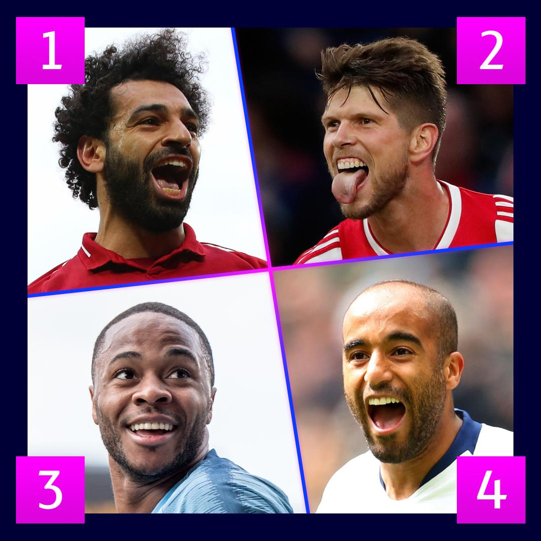 🌟 Stars of the weekend 🌟  Who did it best? 🤔  #UCL