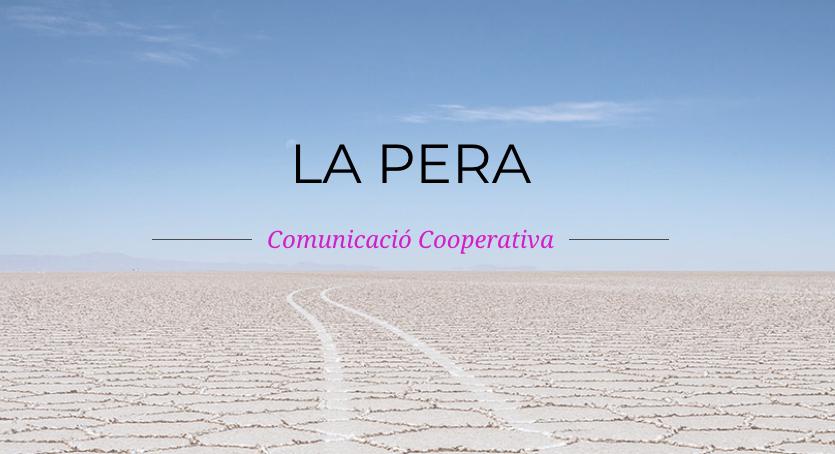 🍐@laperacoop és una cooperativa que treballa des d'una perspectiva feminista en disseny de campanyes de comunicació, continguts, disseny gràfic i web, fotografia i vídeo amb voluntat transformadora.   👏 Benvingudes a la XES!  Mireu quins projectes: https://lapera.coop/