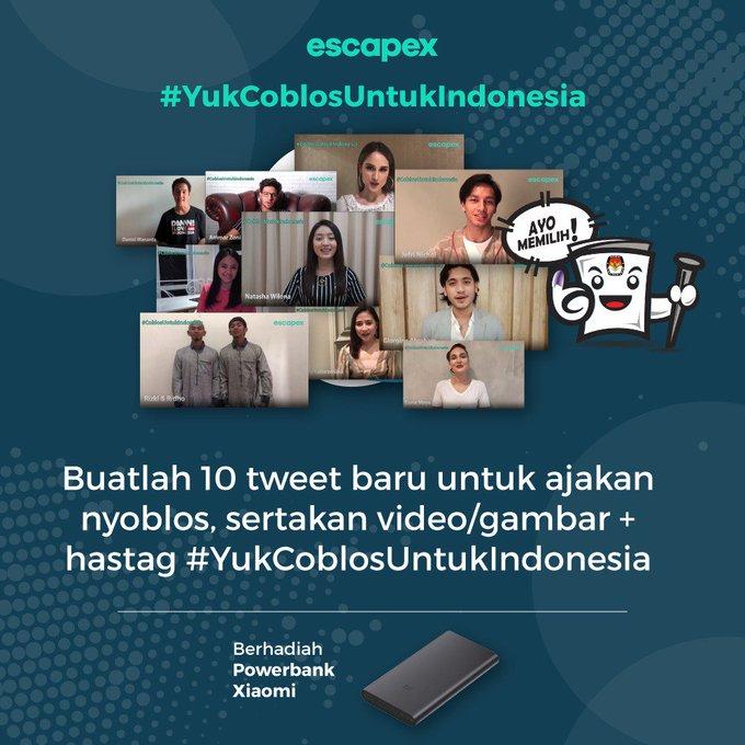 #YukCoblosUntukIndonesia Photo