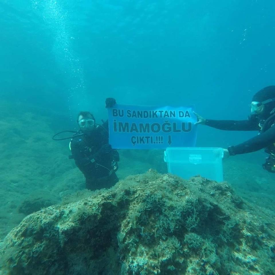 RT @zafer_cellek: Deniz in altından da @ekrem_imamoglu çıktı.  #bakalımYSKnediyecek #MazbatayiVer https://t.co/IK02zF8d6S