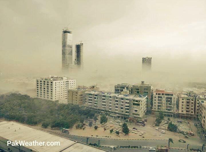 PakWeather.com's photo on #DustStorm