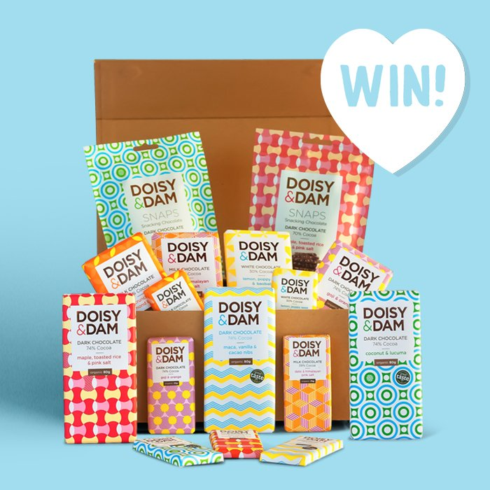 🎉 GIVEAWAY 🎉Win an ultimate hamper of Doisy & Dam chocolates (including some vegan bars). Just cuz you can never have too many Easter chocs 🐰🍫! To enter:  1) Follow @greenjinn & @doisyanddam  2) Like & RT to win 😋!  Good luck! Ends 21/04 https://greenjinn.com/blog/doisy-and-dam-giveaway/…