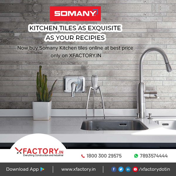 Xfactory In On Twitter Now Buy Somany Kitchen Tiles Online At Https T Co H7ezjrq4lh At The Best Price Https T Co 8kaso8wbsw Somanytiles Tilesonline Buysomanykitchentiles Kitchen Kitchentiles Tiles Xfactoryin Xfactory Hyderabad