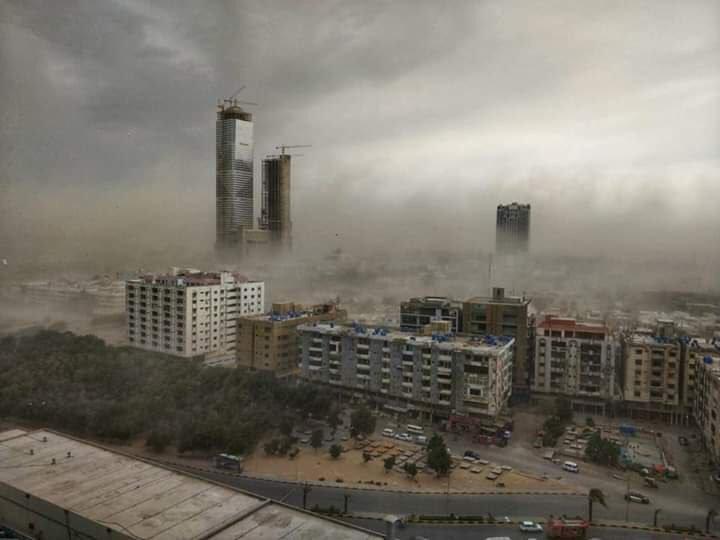 Khurram Ali's photo on #DustStorm
