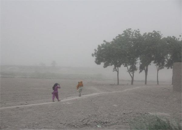 Jagbani's photo on #DustStorm