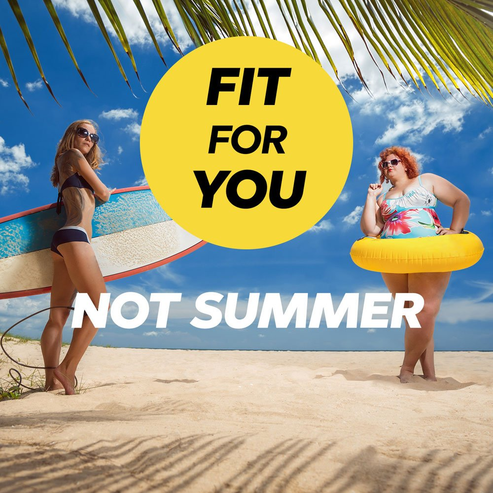 Our newest campaign is here! #FitForYou is all about promoting healthy life, not a summer body! We'll be sharing regular info and helping out however we can! Check out http://bit.ly/2GhLpLq  for more info, and get involved! 😁