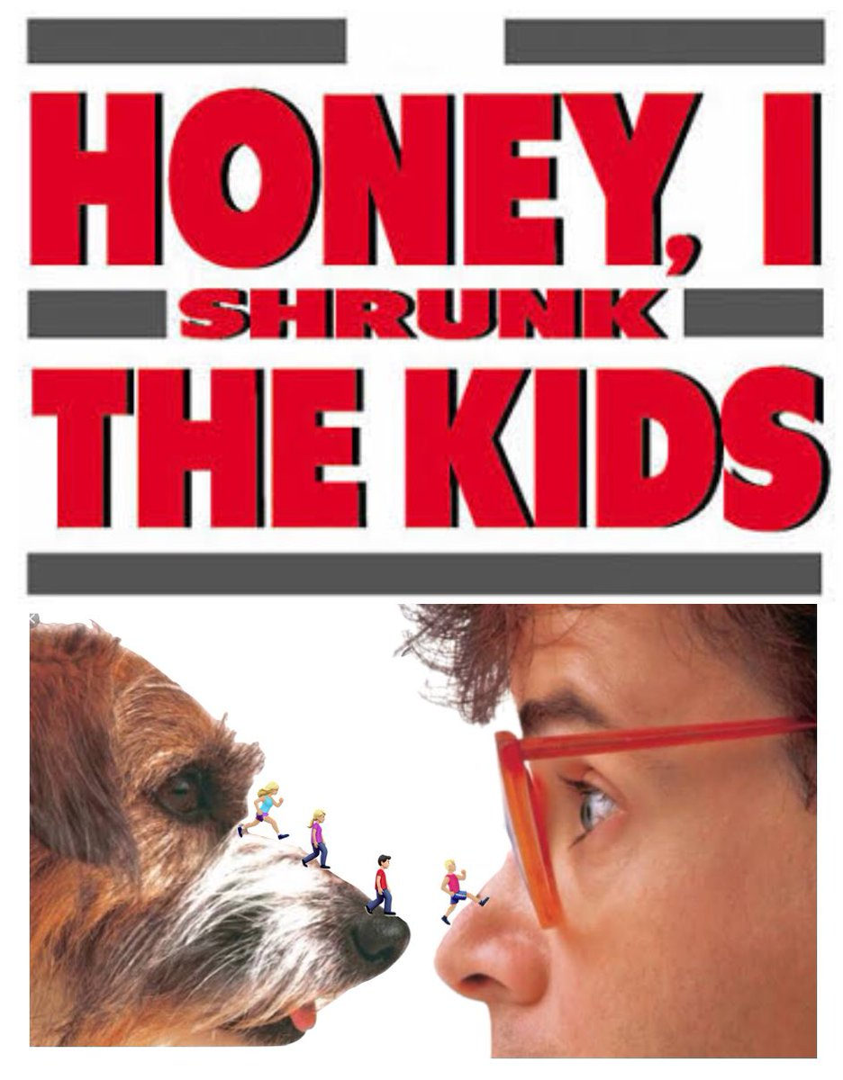 Honey I shrunk the kids! 👫 #Tinyemojimovies #tinyemoji @meesterkurt