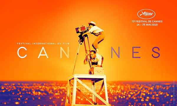 All the way up. As high as she could go. Agnès Varda will be the inspirational guiding light of this 72nd edition of the Festival! La Pointe courte © 1994 Agnès Varda and her children - Montage & design : Flore Maquin. More info: http://festival-cannes.com/en/infos-communiques/communique/articles/the-official-poster-of-the-72nd-cannes-international-film-festival…  #Cannes2019 #AgnesVarda
