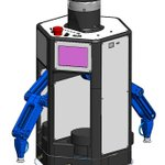 Image for the Tweet beginning: Our new robot CAD is